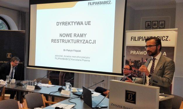Konferencja dot. kierunków rozwoju rynku restrukturyzacji zadłużenia