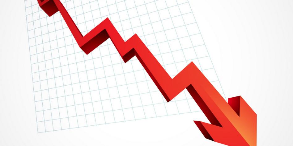Liczba wniosków o upadłość spada